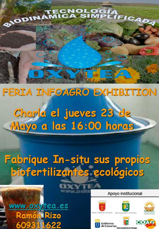 Día 23 de mayo. Infoagro 'Fabrica tus propios biofertilizantes ecológicos'