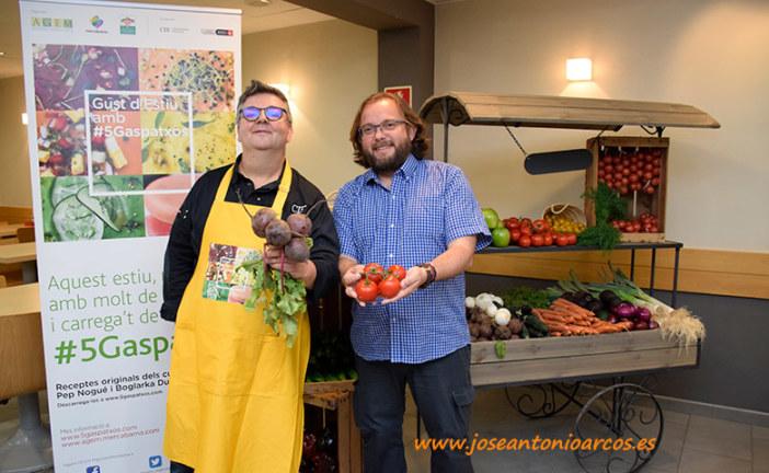 El chef catalán y el gazpacho andaluz