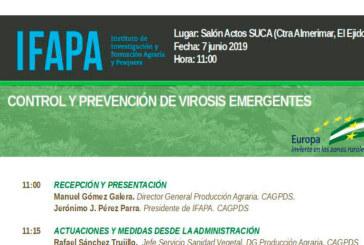 Día 7 de junio. Control y prevención de virosis emergentes