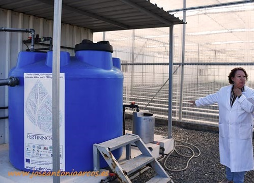 Tanque de reciclaje de lixiviados. /joseantonioarcos.es