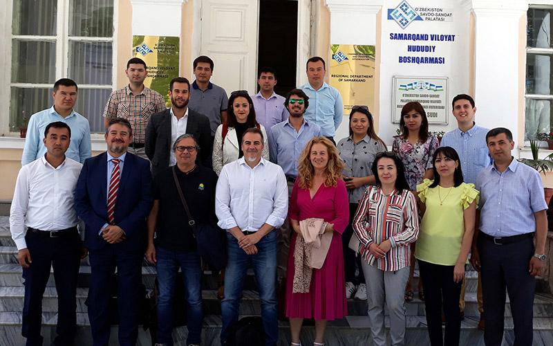 En la Cámara de Comercio de Samarcanda. /joseantonioarcos.es