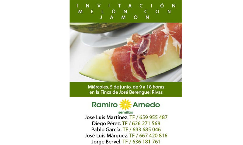 Día 5 de junio. Jornada de melón de Ramiro Arnedo