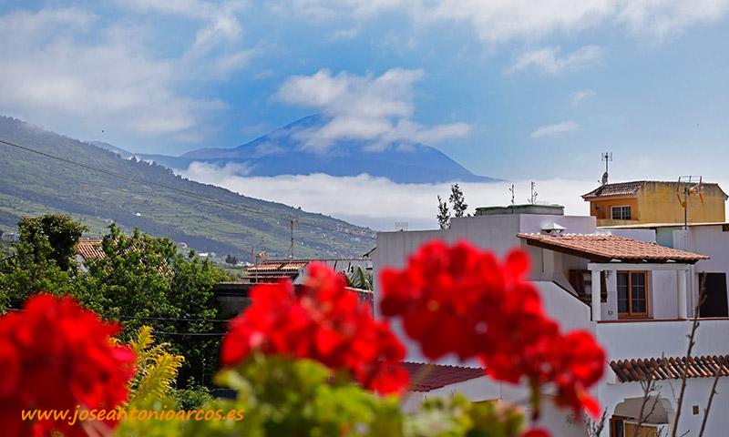 Mirando al Teide desde la Matanza de Acentejo. /joseantonioarcos.es