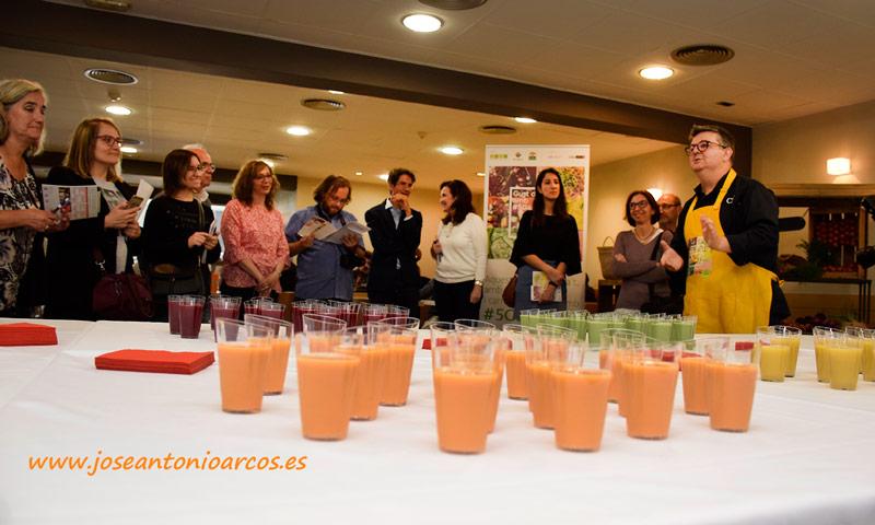 Gazpachos de Pep Nogué. /joseantonioarcos.es