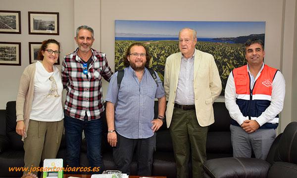 En el despacho del presidente Melchor Bravo de Laguna. Cooperativa FAST. /joseantonioarcos.es