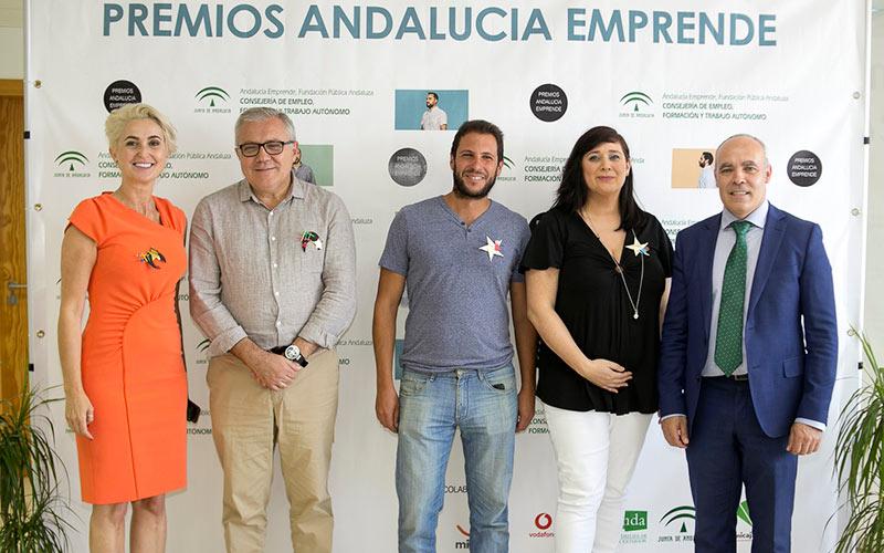 Premios Andalucía Emprende. CCL Fruit y Vegetales y AGrowingData. /joseantonioarcos.es