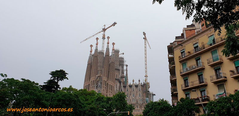 La Sagrada Familia. Barcelona. /joseantonioarcos.es