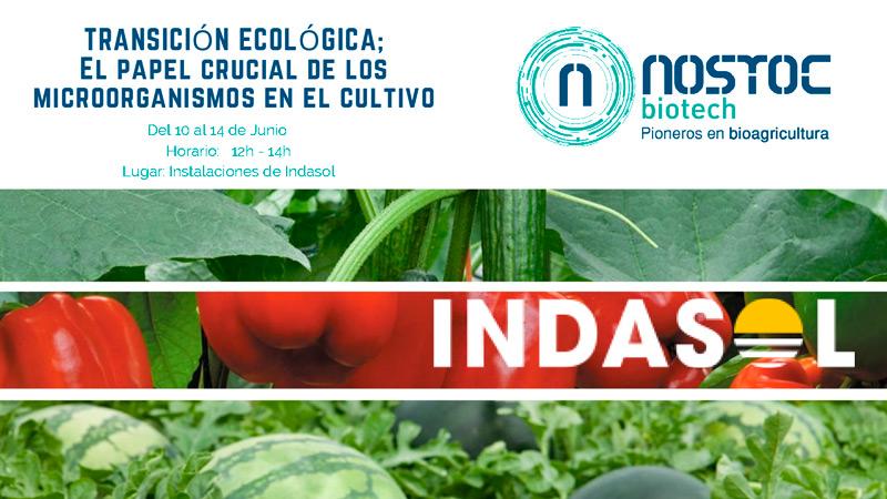 Del 12 al 14 de junio en Indasol. Formación en microorganismos. Nostoc Biotech