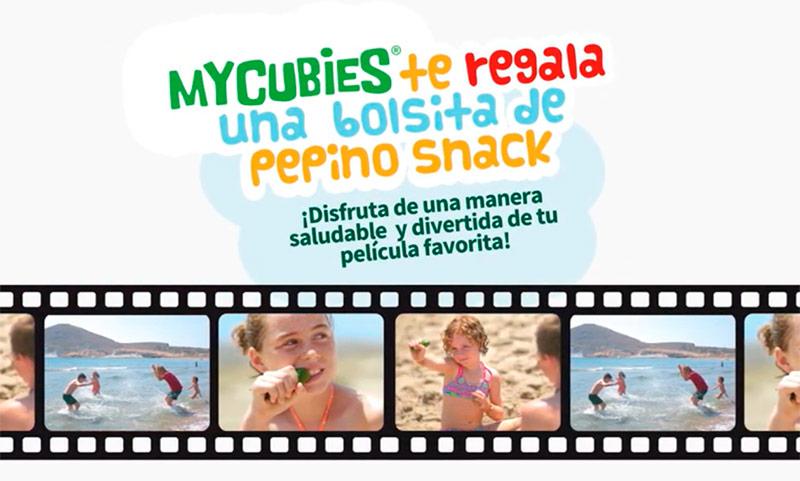Los pepinos MyCubies en los cines de Madrid y Valencia