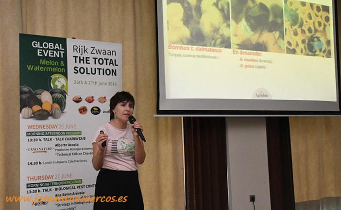Control biológico en cultivos de calle como melón y sandía