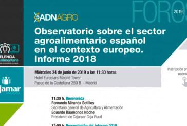 Día 17 de julio. Informe 2018 del Observatorio del Sector Agroalimentario Español