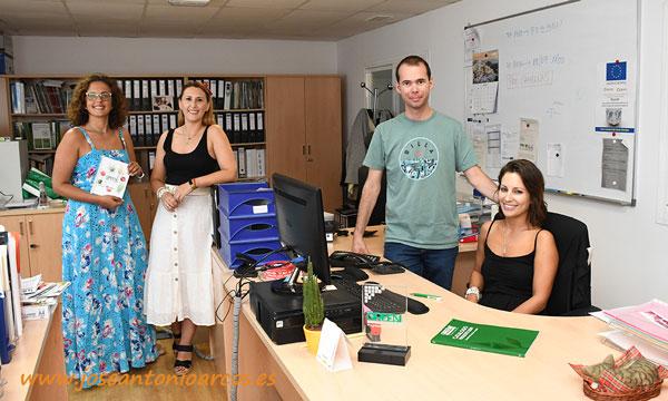 Carmen Granados, Joaquina García, José Luis Castillo y María Mesa. /joseantonioarcos.es