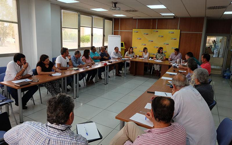 Reunión de Coag con AICA, la Agencia de Información y Control Alimentarios. /joseantonioarcos.es