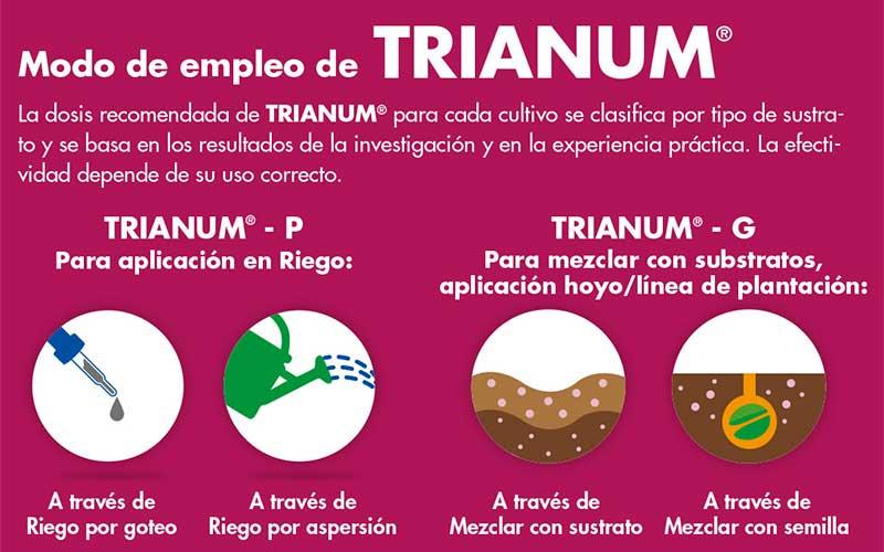Trianum. Modos de empleo. Koppert. /joseantonioarcos.es