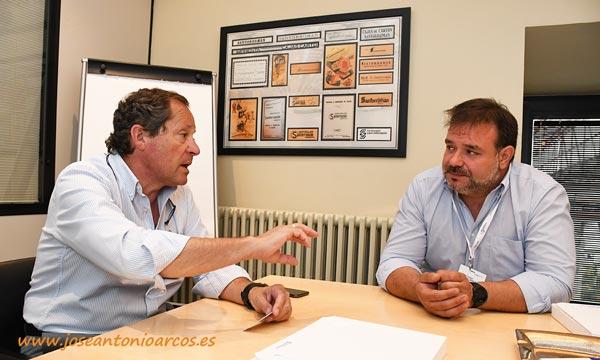 Leopoldo Santorromán y Joaquín Fernández. Uniq. /joseantonioarcos.es