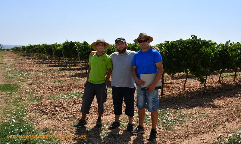 José Antonio Arcos en Navarra en la Estación de Viticultura y Enología de Navarra, EVENA de Olite. /joseantonioarcos.es