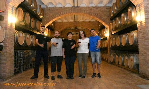 Karmele Jimeno, enóloga de Navarra. Cata de vinos. /joseantonioarcos.es
