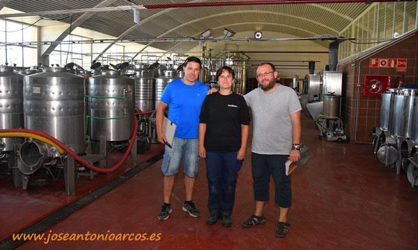 Bodega de la Estación de Viticultura y Enología de Navarra en Olite. /joseantonioarcos.es
