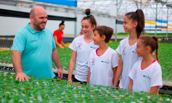El Plantel Semilleros patrocina la máster class de la olímpica Daria Dmitrieva. /joseantonioarcos.es