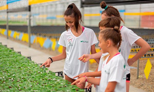El Plantel patrocina la máster class de la olímpica Daria Dmitrieva. /joseantonioarcos.es