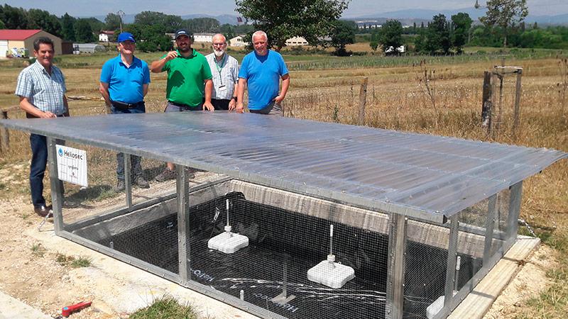 El instituto vasco de investigación agraria instala un Heliosec de Syngenta-joseantonioarcos.es