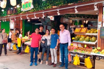 Desembarco récord de empresas españolas en Asia Fruit Logística