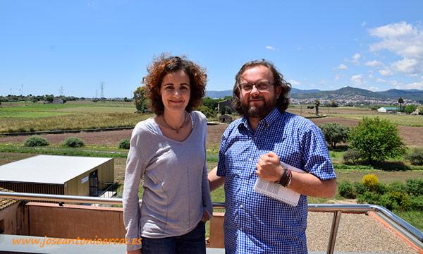 Gemma Frances con José Antonio Arcos. /joseantonioarcos.es
