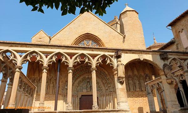 Iglesia de Santa María la Real en Olite. /joseantonioarcos.es