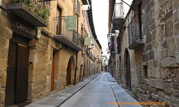 Calles de piedra de Olite, Navarra. /joseantonioarcos.es