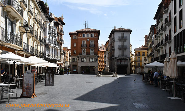 Plaza del Torico. /joseantonioarcos.es