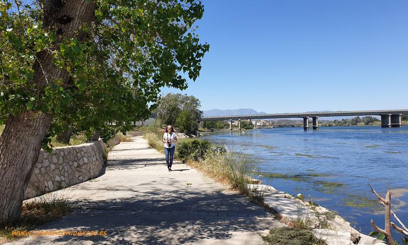 El Ebro a su paso por Amposta. /joseantonioarcos.es