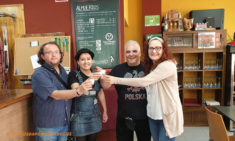 Ana Rubio y José Antonio Arcos en el restaurante Les Capsades en Vinaroz, Castellón, Comunidad Valenciana. /joseantonioarcos.es