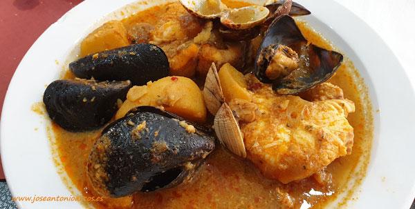 Suquet de pescado en Les Capsades. /joseantonioarcos.es