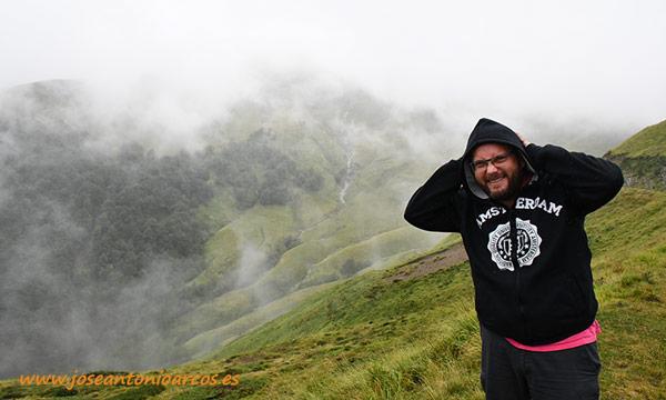 José Antonio Arcos en el Pirineo francés. /joseantonioarcos.es