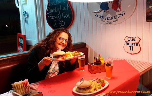 Ana Rubio descubre la gastronomía de Salou, Tarragona. /joseantonioarcos.es
