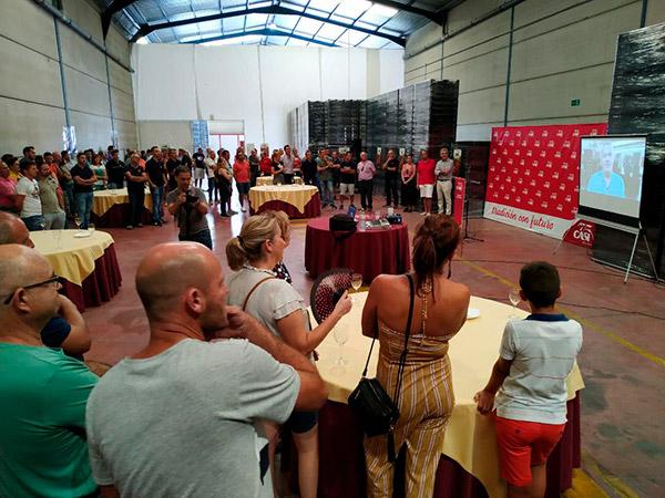 La cooperativa CASI inaugura un nuevo centro en Alhama de Almería. /joseantonioarcos.es