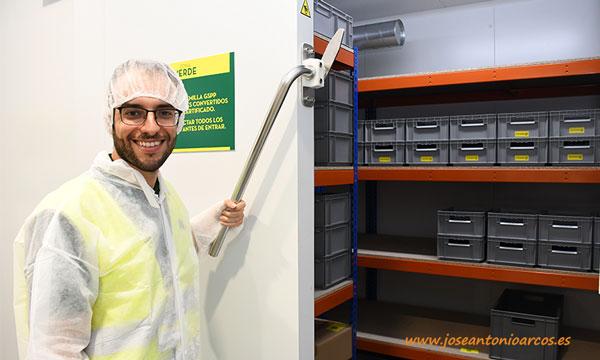 Juan Jesús Narváez, Seed Technology & Quality Process de Semillas Fitó. /joseantonioarcos.es