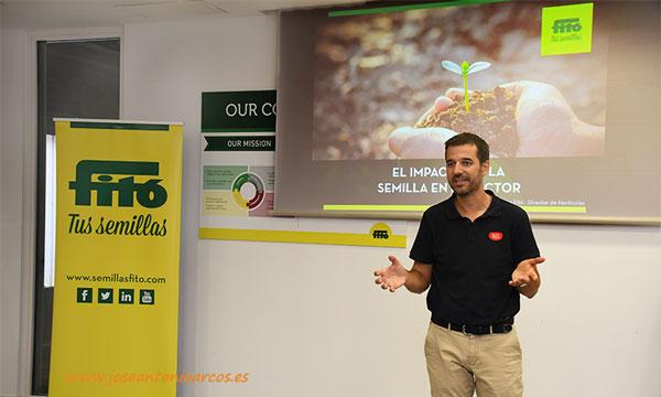 Xavier Fitó, director de Hortícolas. /joseantonioarcos.es