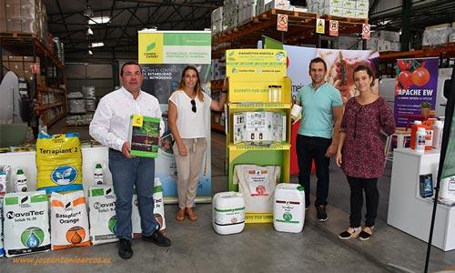 Compo Expert con su catálogo de ecológico en Juan Miras-joseantonioarcos.es