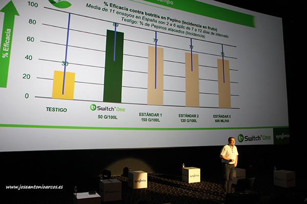 José Mª López, technical crop expert de Syngenta. /joseantonioarcos.es