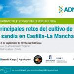 Día 9 de septiembre. Principales retos del cultivo de melón y sandía en Castilla-La Mancha