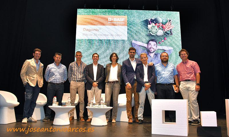 BASF presenta el fungicida Dagonis en Almería. /joseantonioarcos.es