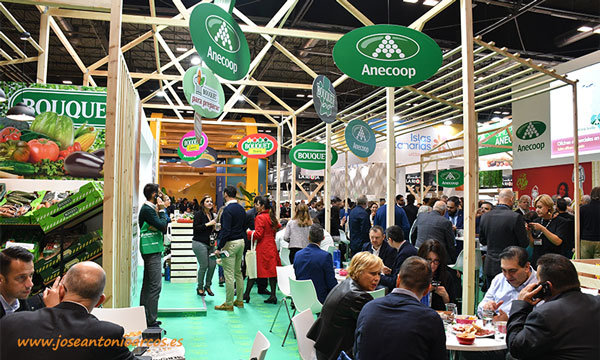 Expositor de Anecoop en Fruit Attraction 2019. /joseantonioarcos.es