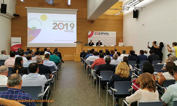 Asamblea de Coexphal 2019. /joseantonioarcos.es