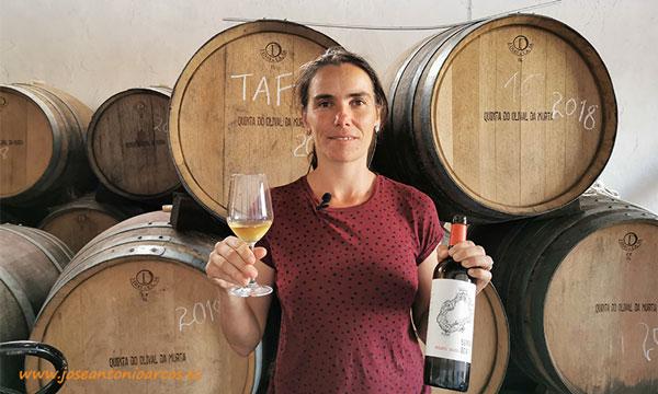Joana Vives es gerente de la Quinta do Olival da Murta. /joseantonioarcos.es