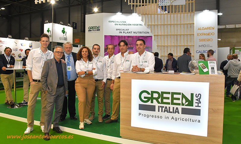 Expositor de Green Has Italia en Fruit Attraction 2019. /joseantonioarcos.es