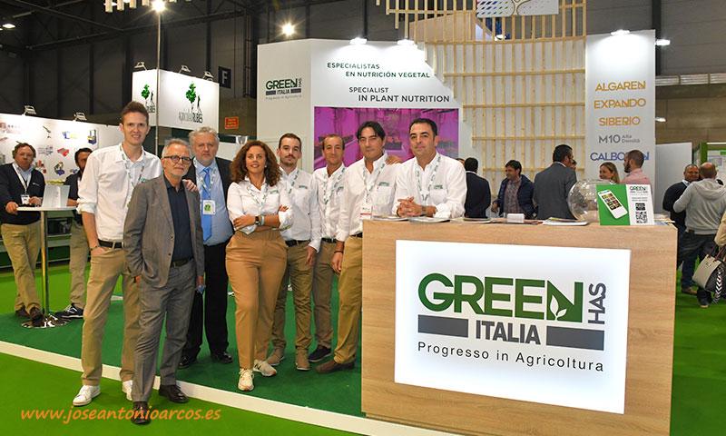 Expositor de Green Has Italia en Fruit Attraction 2019. /joseantonioarcos.es