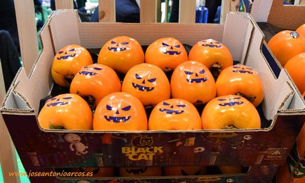 El Persimon que conquistará Halloween en los países de Europa del Este. /joseantonioarcos.es