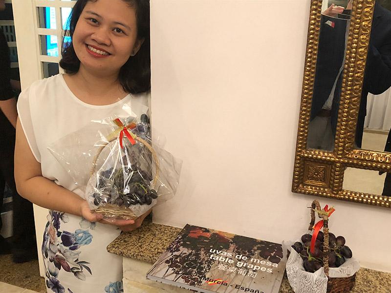 La uva de Murcia llega a Vietnam. /joseantonioarcos.es