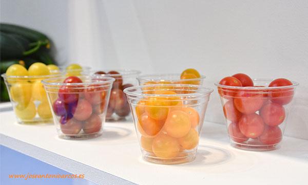 Tomate cherry de Axia Seeds en Fruit Attraction 2019. /joseantonioarcos.es